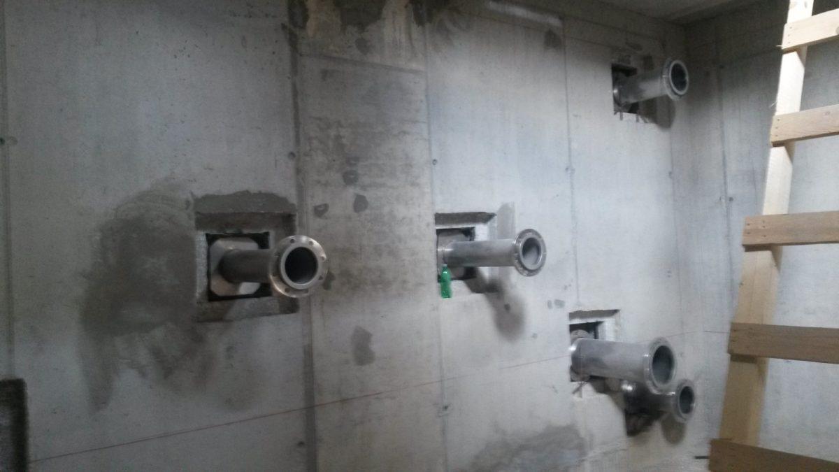 Izgradnja vodospreme VS Senjsko 2 sa spojnim cijevima